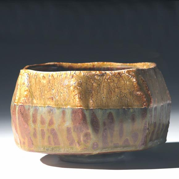 Faceted Noodle bowl, by Bob Briscoe