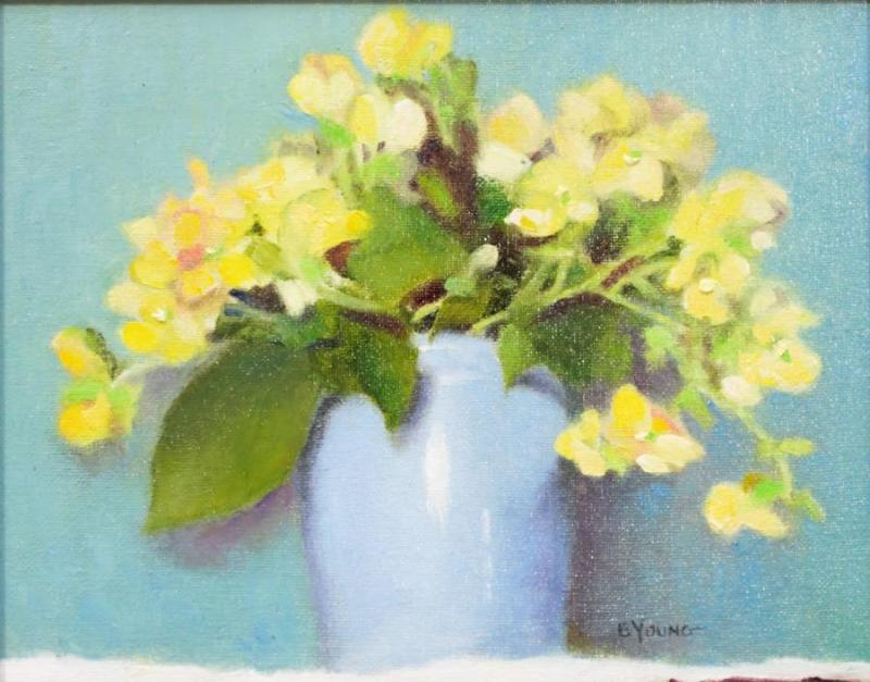 Classic Bouquet One, oil on art panel by Barbara Young of Taylors Falls, MN