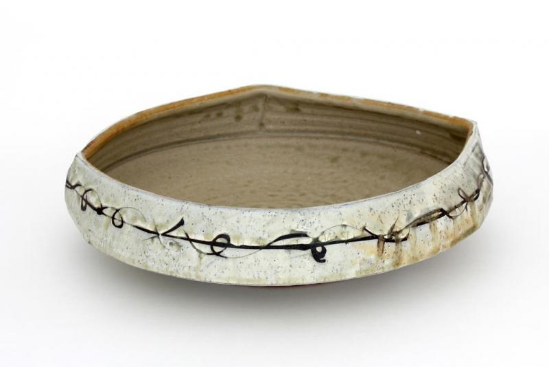 Barbed Wire Bowl by Matthew Krousey