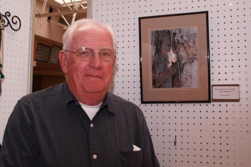 "Dale Hawkins of Mora with ""Mother Nature's Design"""
