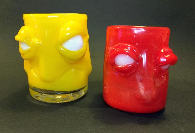 Soulless Shot Glasses by Rick Schneider