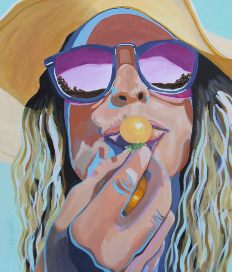 Sunkissed by Kristin Webster - Merit Award, Painting Opaque
