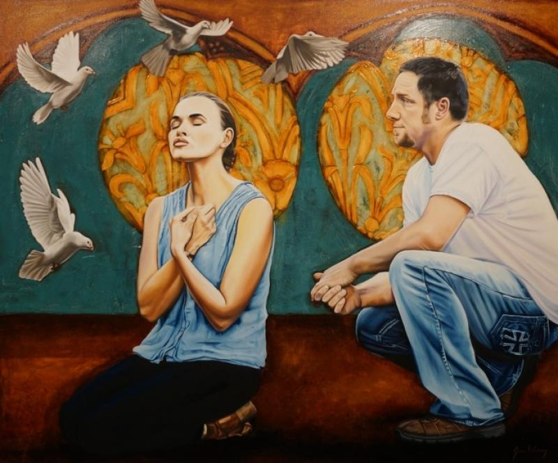The Annunciation by Jessie DeCorsey - Artistic Excellence Award (1st Place)