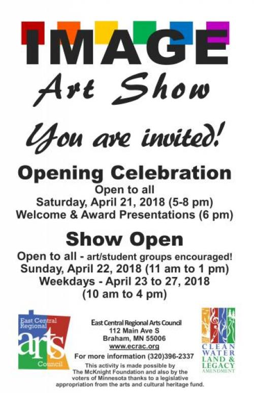Image Art Show Poster