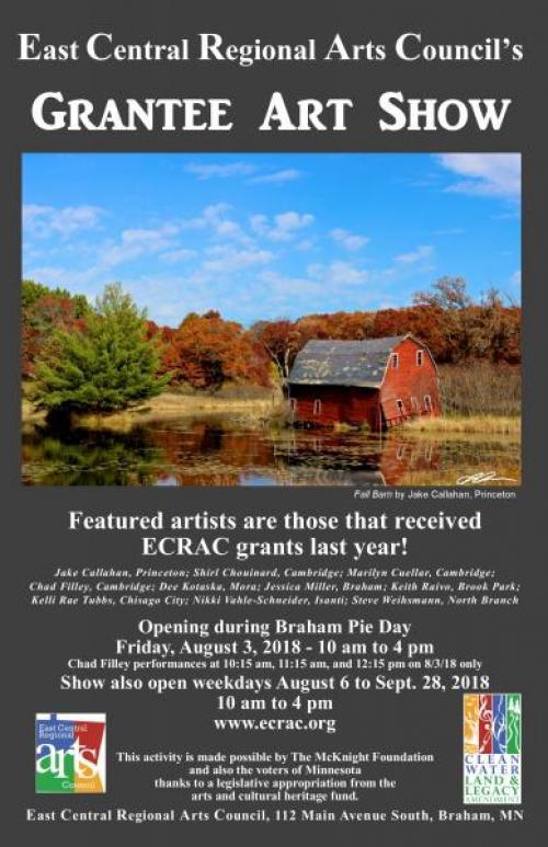 ECRAC Final Grantee Art Show 2018