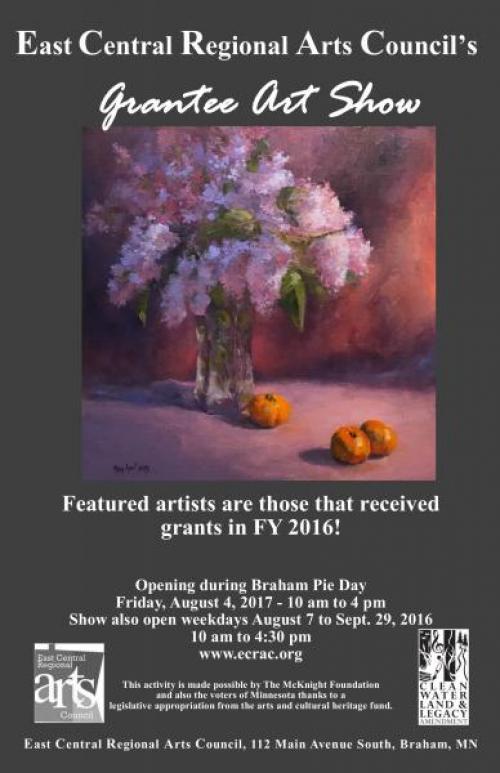 ECRAC Grantee Art Show