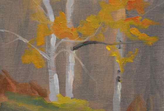 Three Trees study by Mary Ann Cleary