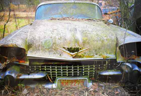 Cadillac, digital photography by Charles Jokinen of Rush City, MN