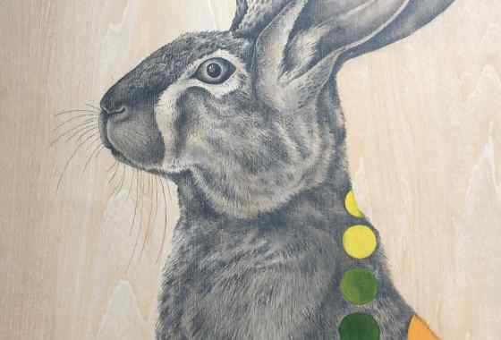Jackalope by Terri Huro - Excellence and Purchase Award, Other Art Forms
